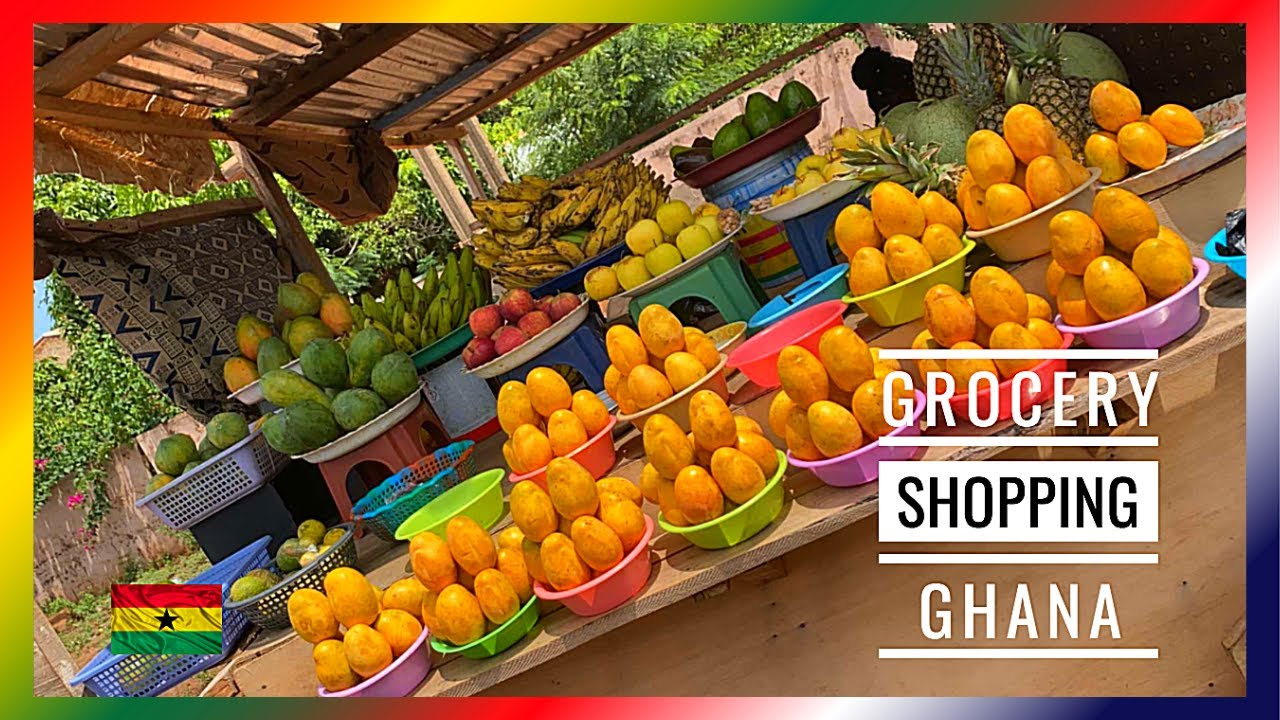 LOCAL SHOPPING & SUPERMARKET INCLUDING PRICES ! GHANA 🇬🇭 Vlog #48 (2020)