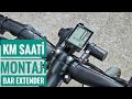 Km Saati Nasıl Takılır? Bar extender   Bisiklet Vlog #25