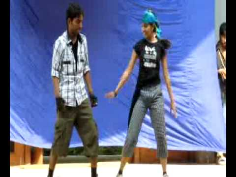 Dance By Shashi and Priyangna on College day dance selection.