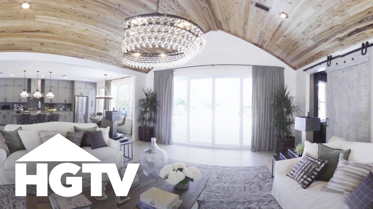 hgtv dream home 2017 360 video tour youtube. Black Bedroom Furniture Sets. Home Design Ideas