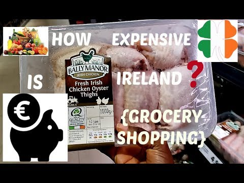 COST OF LIVING IN IRELAND|GROCERIES|STORE PRICES