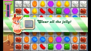 Candy Crush Saga Level 855 walkthrough (no boosters)