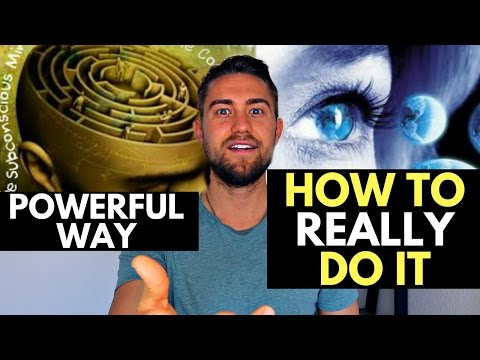 How Your Words LITERALLY Create Your Reality (how to do it powerfully)