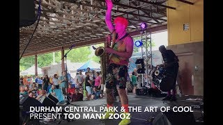 Too Many Zooz in Durham Central Park