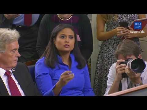 Sarah Sanders Press Briefing on Trump...