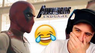 😂Deadpool Invade AVENGERS END GAME Trailer #2 Reacción!!😂