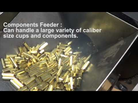 Turbo Annealing System for First & Second Draw Brass Components