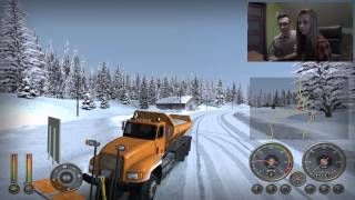 18 Wheels of Steel: Extreme Trucker 2 ☆ Karolina za kierownicą  ㋡ Zima na Alasce #1