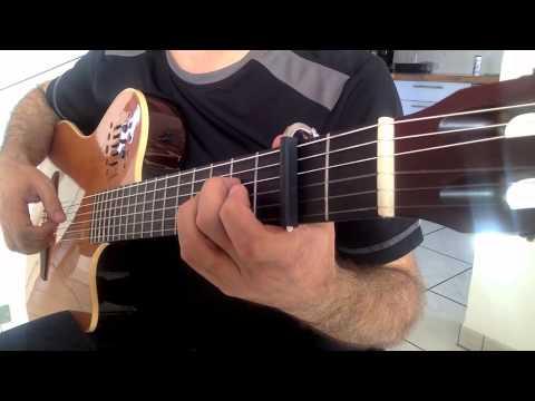 """"""" NASIL GEÇTİ HABERSİZ """" Guitar Cover"""