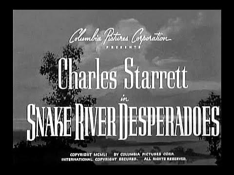 The Durango Kid - Snake River Desperadoes - Charles Starrett, Smiley Burnette