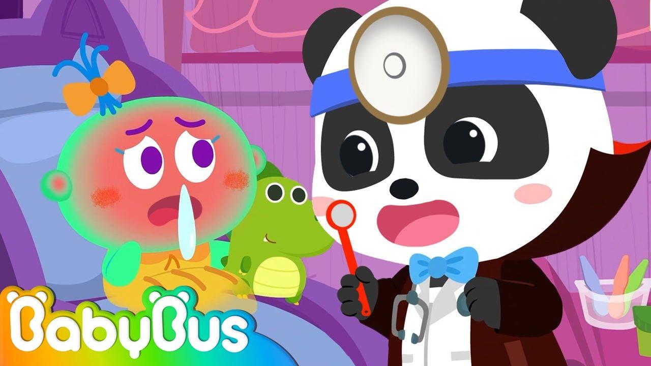 Halloween Doctor | Halloween Songs for Kids | Doctor Cartoon | Nursery Rhymes | Kids Songs | BabyBus