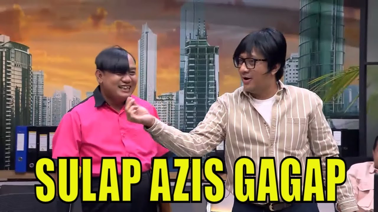 Download Jadi OB Baru, Azis Gagap Langsung Pamer Aksi Sulap | BTS (19/09/21) Part 1