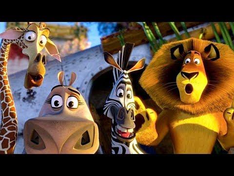 Мадагаскар 2 Побег из африки Развлекательная игра в виде мультфильма