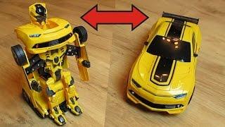 Машина робот трансформер на радиоуправлении, RC cars Transformer JIAQI TT661