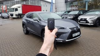 2018 Lexus NX 300h: In-Depth Exterior and Interior Tour!