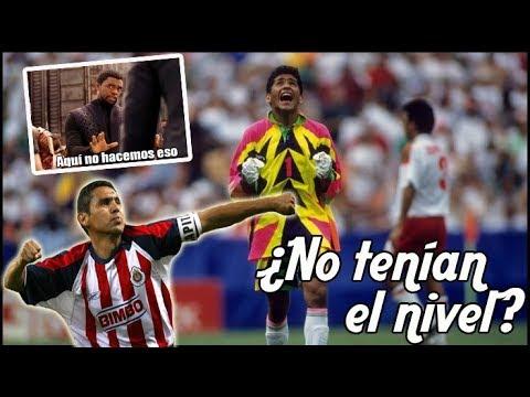10 Cracks Mexicanos que nunca pudieron jugar en Europa