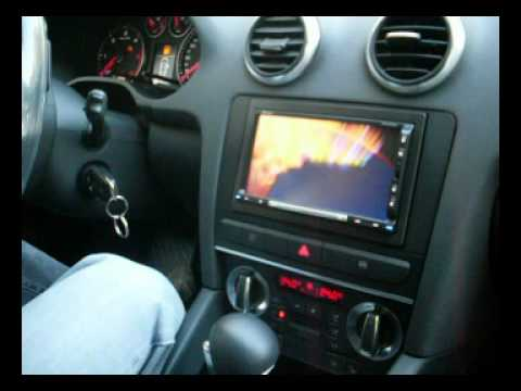 clarion max688rbt su audi a3 sportback by sael youtube. Black Bedroom Furniture Sets. Home Design Ideas