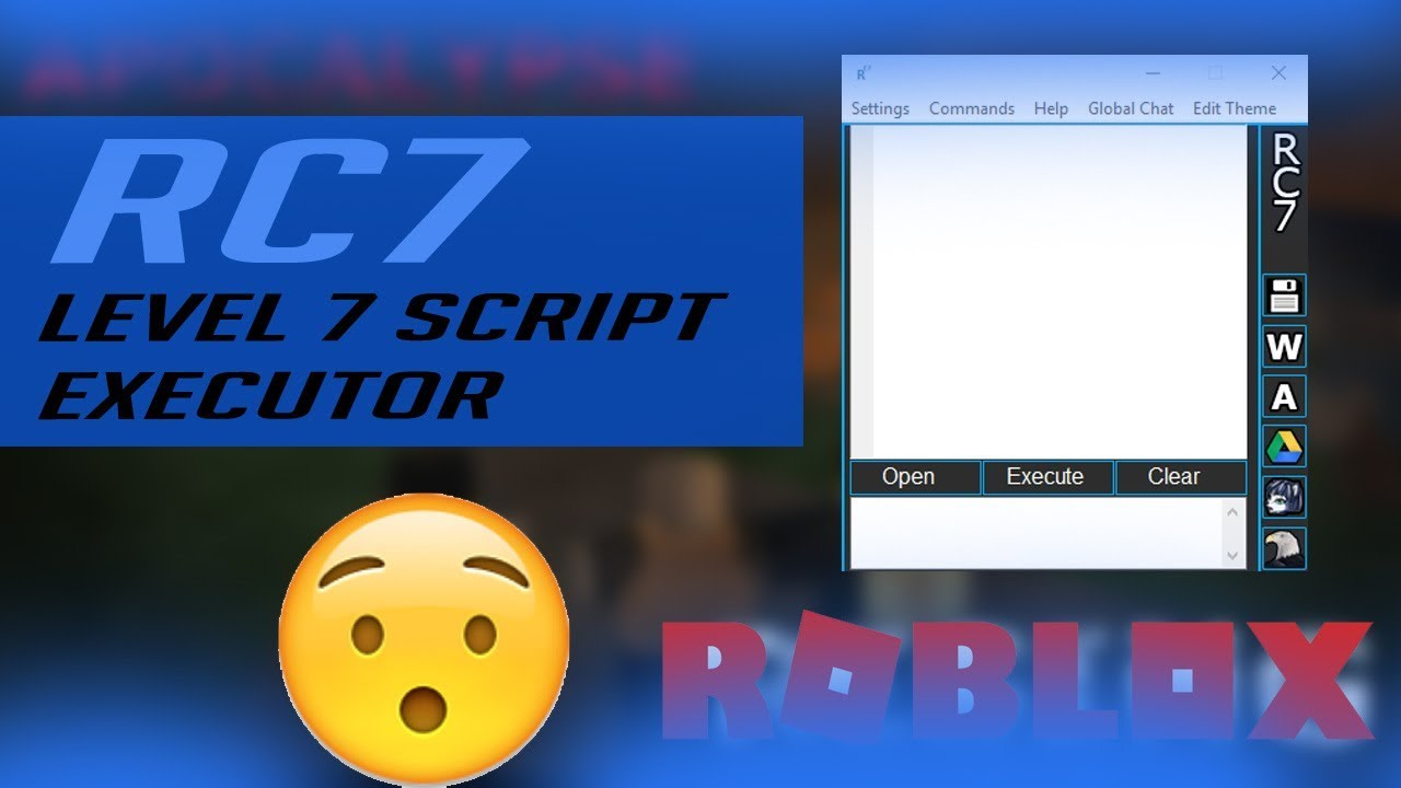 Level 7 Rc7 Script Executor Roblox Hack Exploit