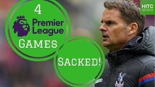 7 Shortest Premier League Managerial Reigns