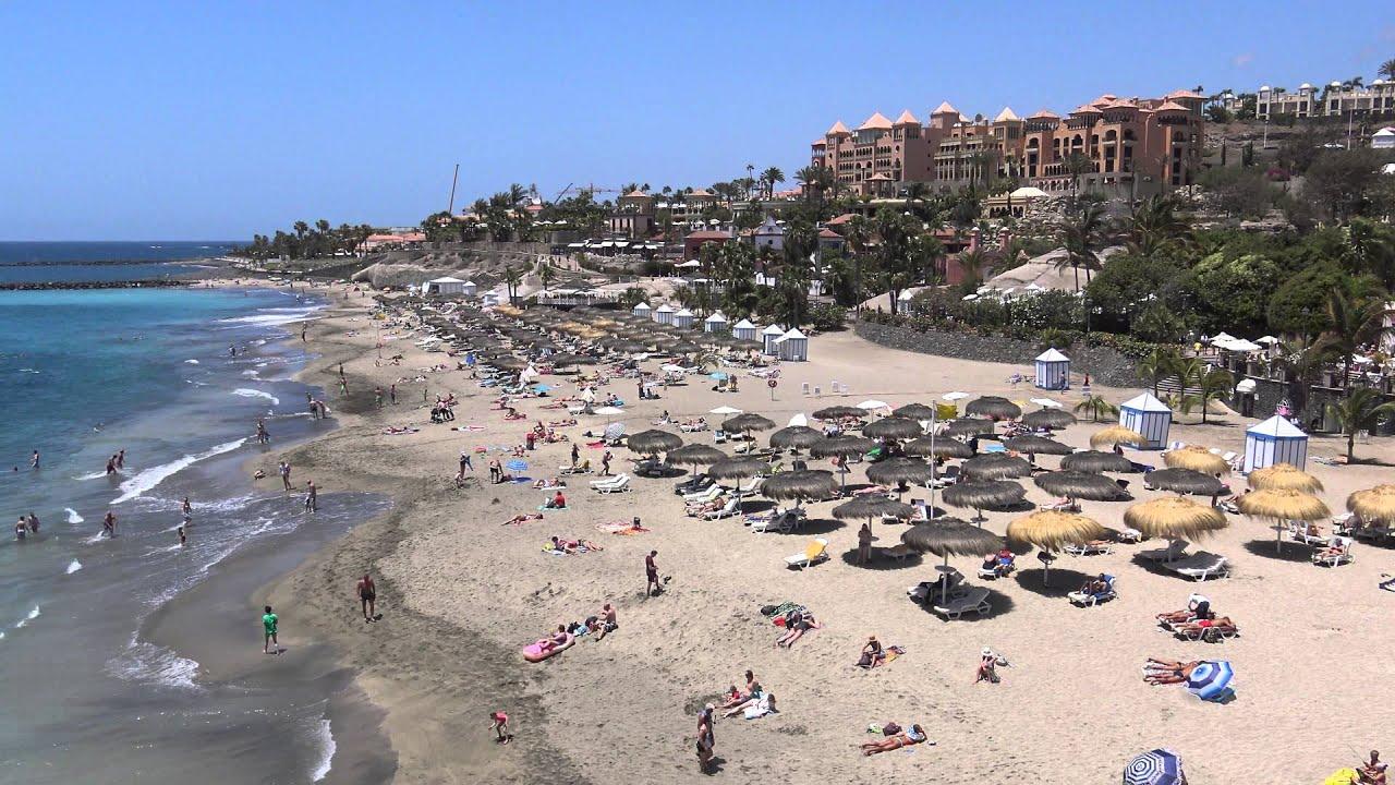 Playa del Duque, Costa Adeje, Tenerife (4K) - YouTube