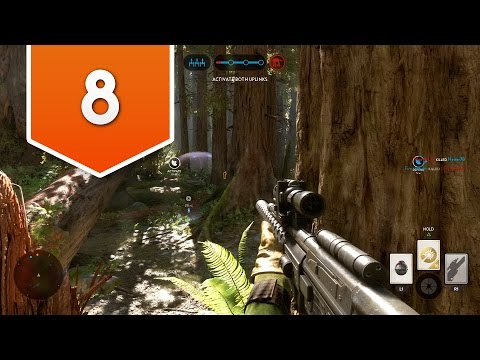 STAR WARS BATTLEFRONT - RTMR - Live Multiplayer Gameplay #8 - SMACKING PLAYERS IS SO FUN!