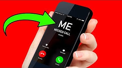 If Your Own Number Calls You, Don't Pick Up!