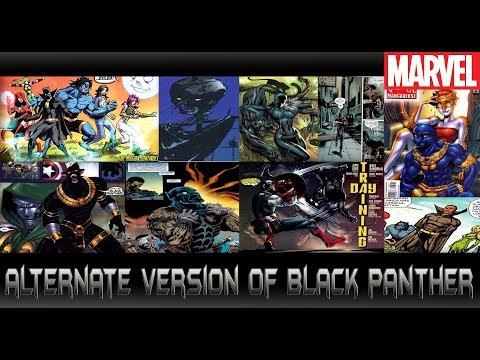 รวบ Black Panther เวอร์ชั่นต่างๆแปลกๆจากComic - Comic World Daily