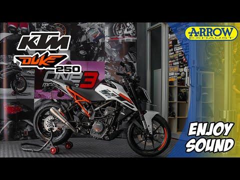 Arrow Exhaust: KTM Duke 250