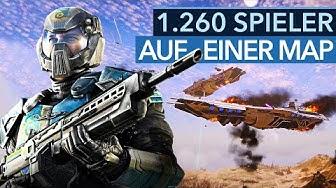 So sehen 2020 die größten Multiplayer-Schlachten aus! - Planetside 2 nach dem Escalation-Update