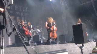 Apocalyptica - For Whom the Bell Tolls (Metallica cover) @ Tuska 2.7.2017