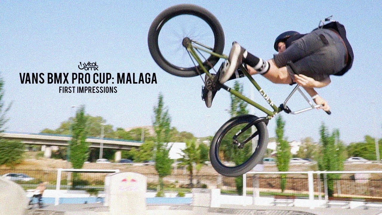 a0b5b105b4 2018 Vans BMX Pro Cup  Malaga - First Impressions - YouTube