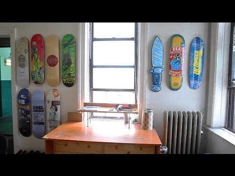 The Skateshop run out of a Tiny NYC Apartment
