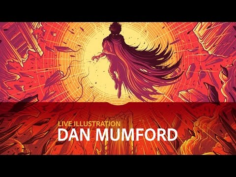 Live Illustration with Dan Mumford - DAY 1/3