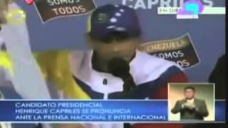 ZKVTV revive denuncias de Capriles, sobre supuesto fraude en mesa electoral en Trujillo