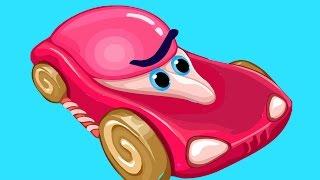 Мультфильм для детей про Игры и Машинки Гонки с Крокодилом 2