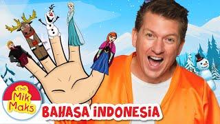 Lagu Keluarga Jari Frozen | Lagu Anak-anak | The Mik Maks Indonesia