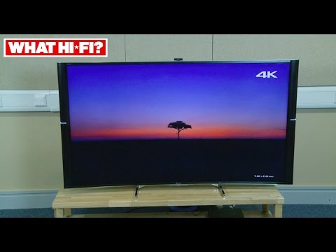 Sony KD-65S9005B unboxing and review - Sony's 4K Ultra HD curved 2014 TV