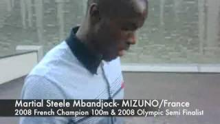 WWW.DATDOC.COM - Martial Steele Mbandjock, 2008 French Champion, 100m
