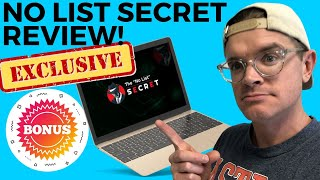 "The ""No List"" Secret Review 🆘 Do NOT Purchase The ""No List"" Secret Yet!"
