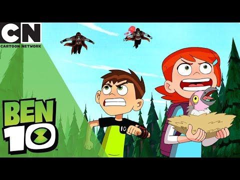 Ben 10 | Running From the Hex Twins | Cartoon Network
