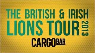 Cargo Bar British Lions 2013