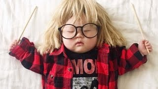 Mom Adorably Dresses Sleeping 4-Month-Old In Hilarious Costumes You'll Recognize