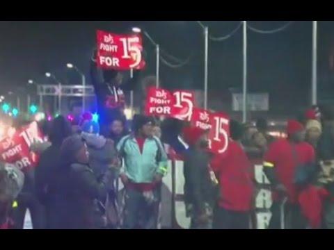 $15 Minimum Wage Protests Across US