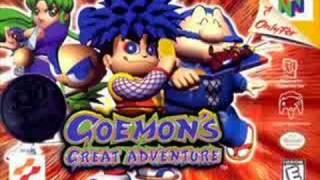 Goemon's Great Adventure Music - Ryugu Castle