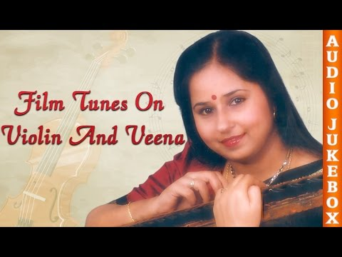 Best Telugu Songs On Violin And Veena | E. Gayathri Telugu Hits Jukebox | Instrumental Music