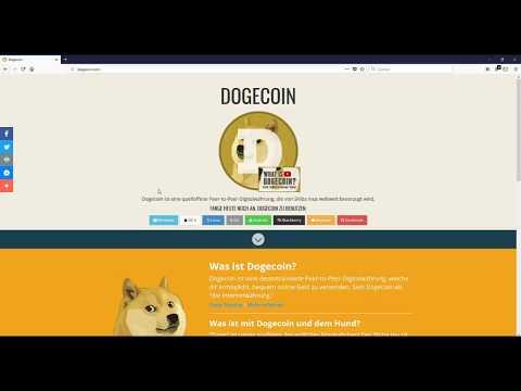Dogecoin Core: Private Keys exportieren | Schnell Dogecoins versenden ohne Synchronisation