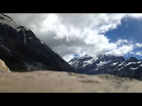 Time elapse from Aoraki/Mt Cook in New Zealand.