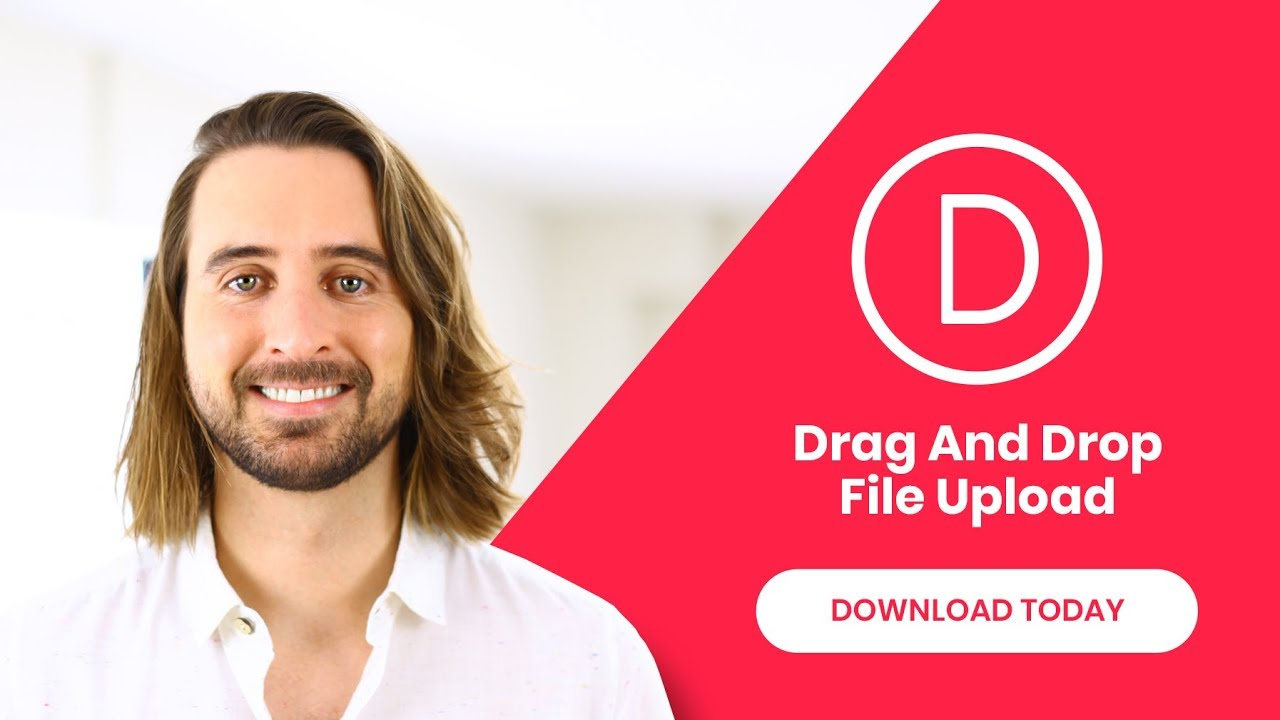 Divi Feature Update! Introducing Drag & Drop File Upload For