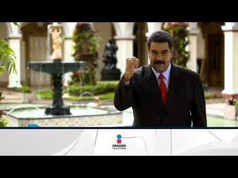 Nicolás Maduro se quiso expresar con señas | Qué Importa
