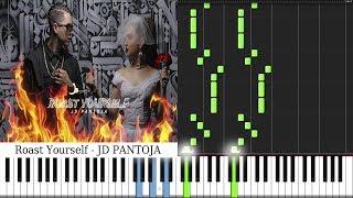 Juan De Roast Yourself Challenge - JD Pantoja 🔥 PIANO TUTORIAL